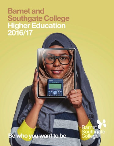 5c4fb7b575a Barnet and Southgate College Higher Education Guide 2016 17 by ...