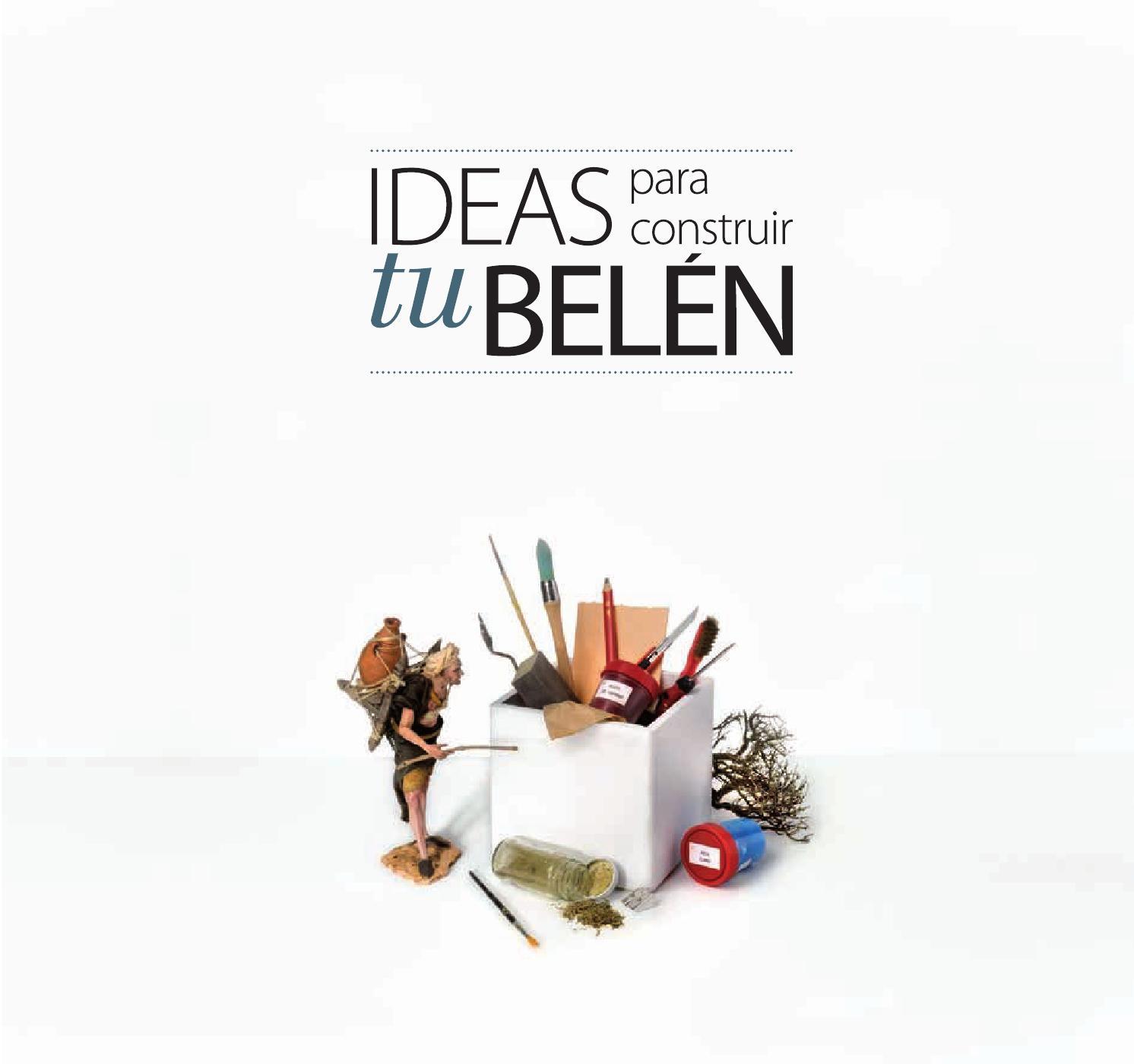 Ideas Para Construir Tu Belén Cap 7 Ambientación Lola Simón By Fdb Editions Issuu