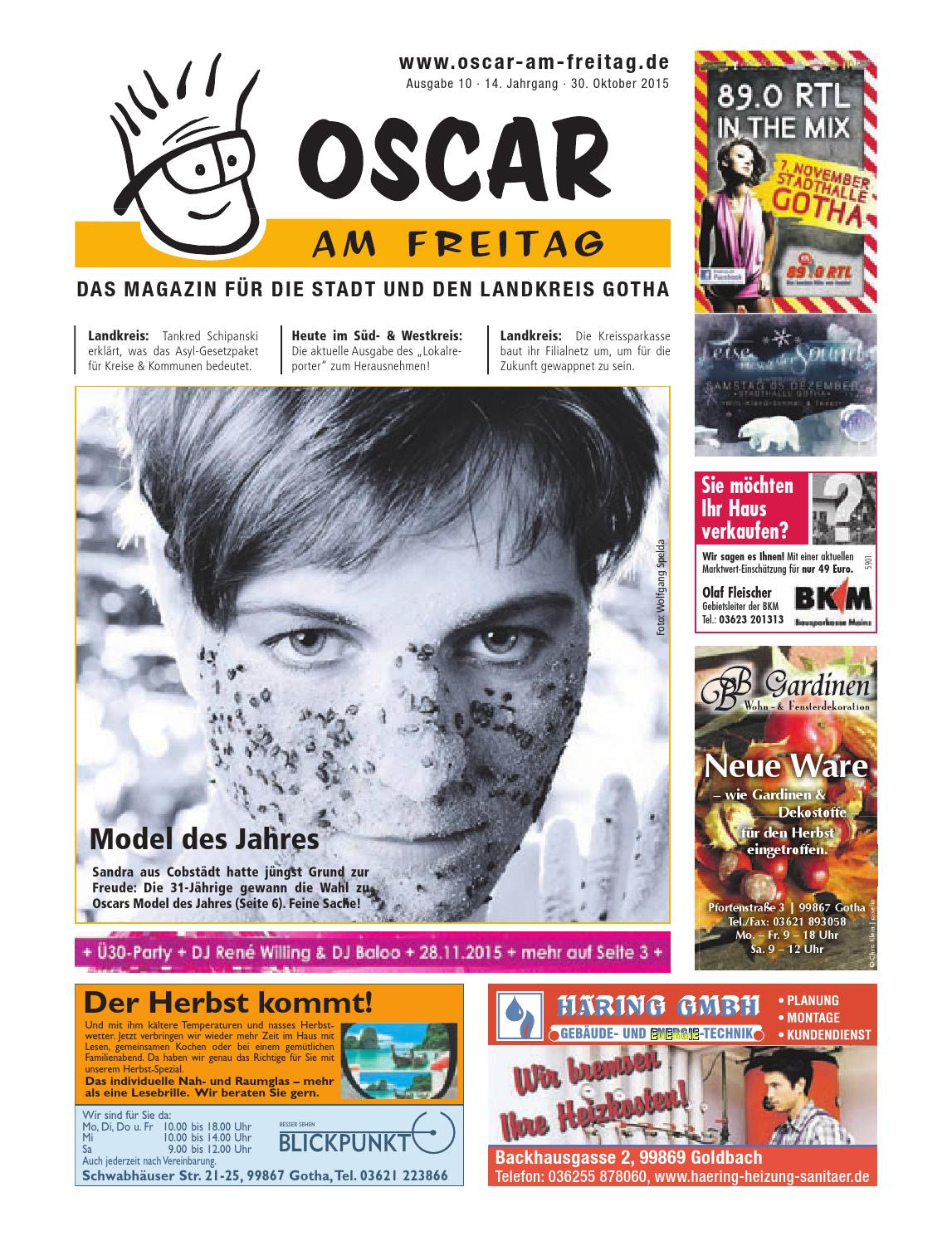 Oscar Am Freitag Gotha By Msb Verlags Gmbh Co Kg Issuu