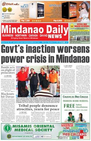 06aecd9789 Mindanao Daily News (November 2-3