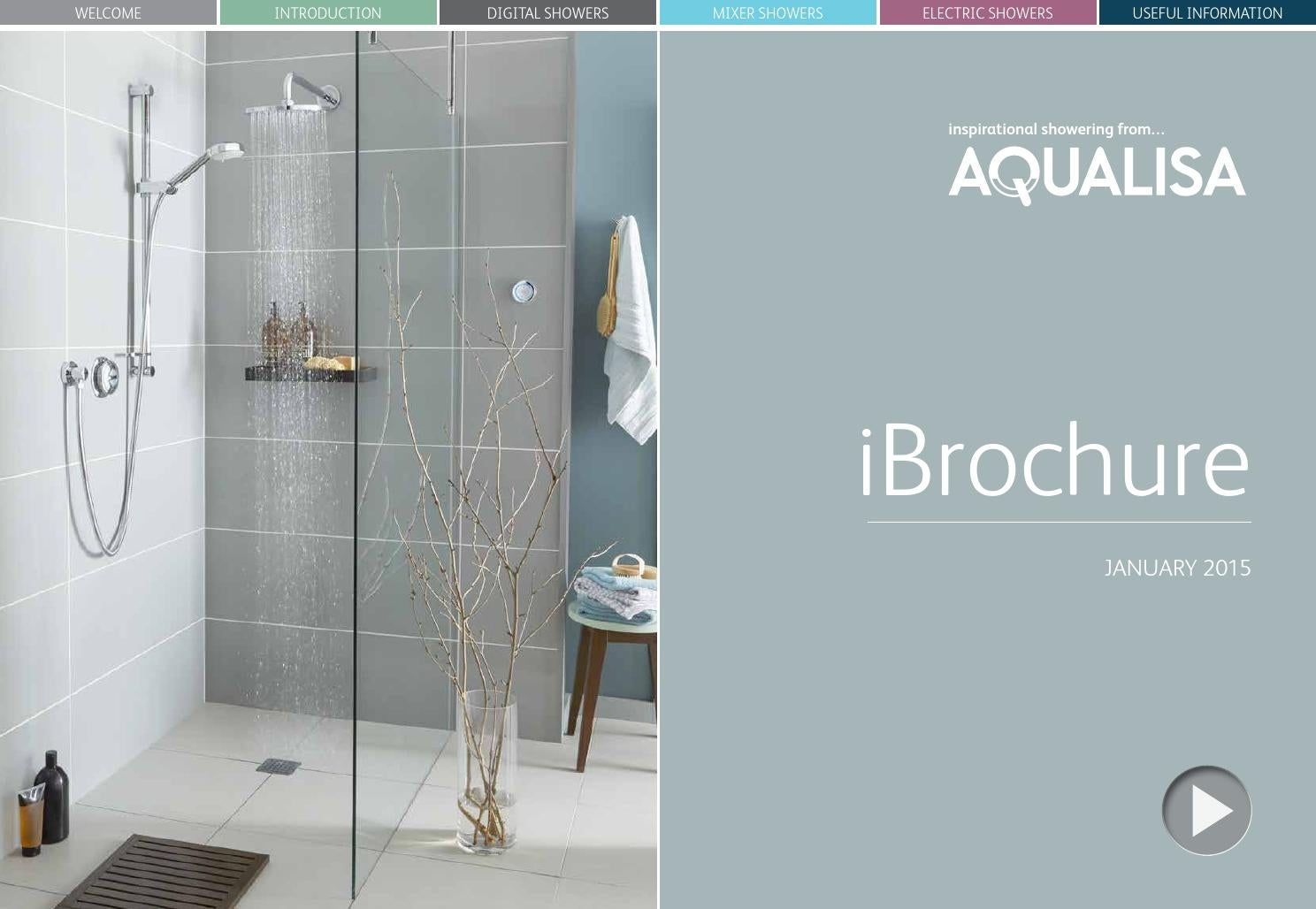 Aqualisa Dream Concealed Thermostatic Shower /& Adjustable Head Chrome DRM001CA