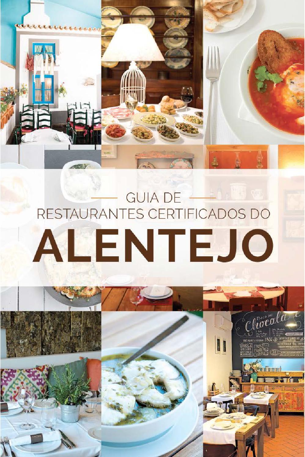 Guia de Restaurantes Certificados do Alentejo by Trendy