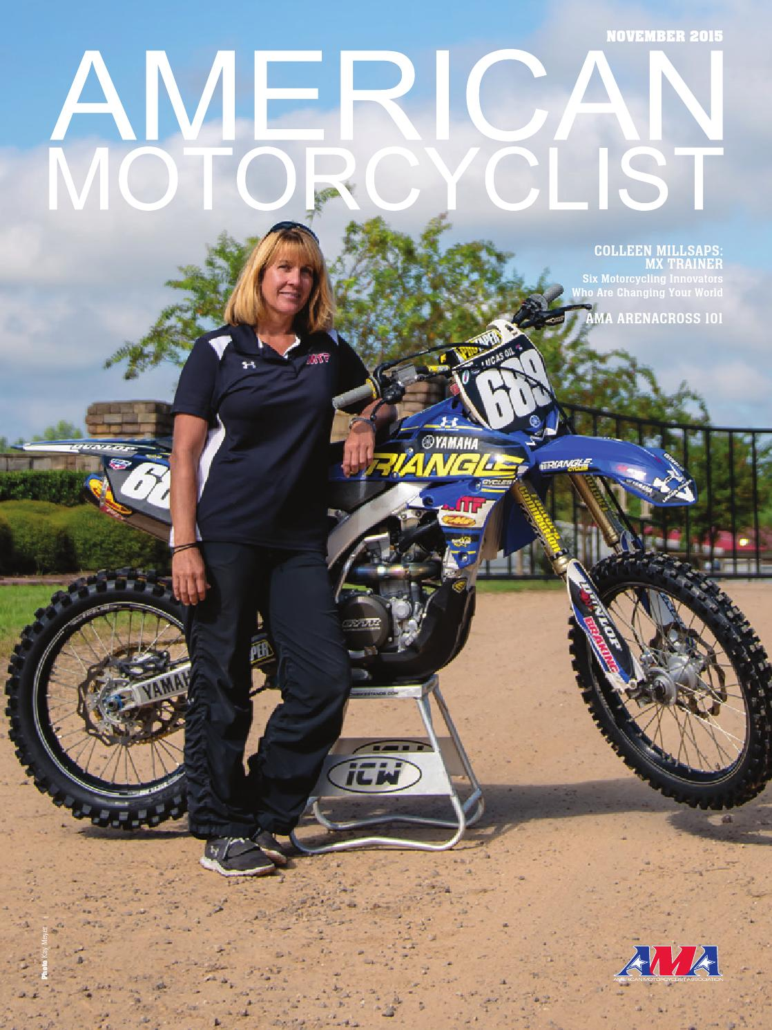 superb american motorcyclist #3: American Motorcyclist November 2015 Dirt