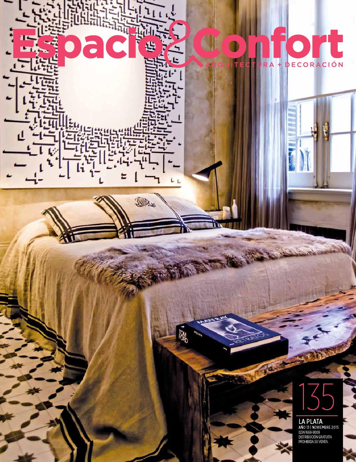 135 La Plata Noviembre By Revista Espacio Confort Arquitectura  # Bowen Muebles A Medida