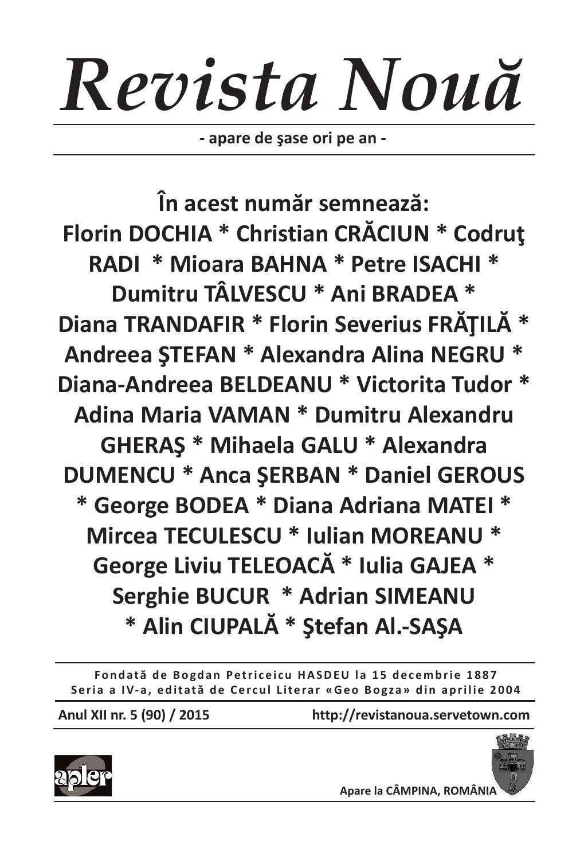 Anamaria Isachi revista noua 5 2015florin dochia - issuu