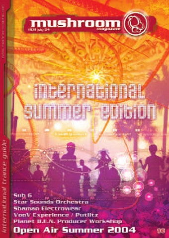 Mushroom Magazine International Summer Edition July 2004 By Mushroom ...