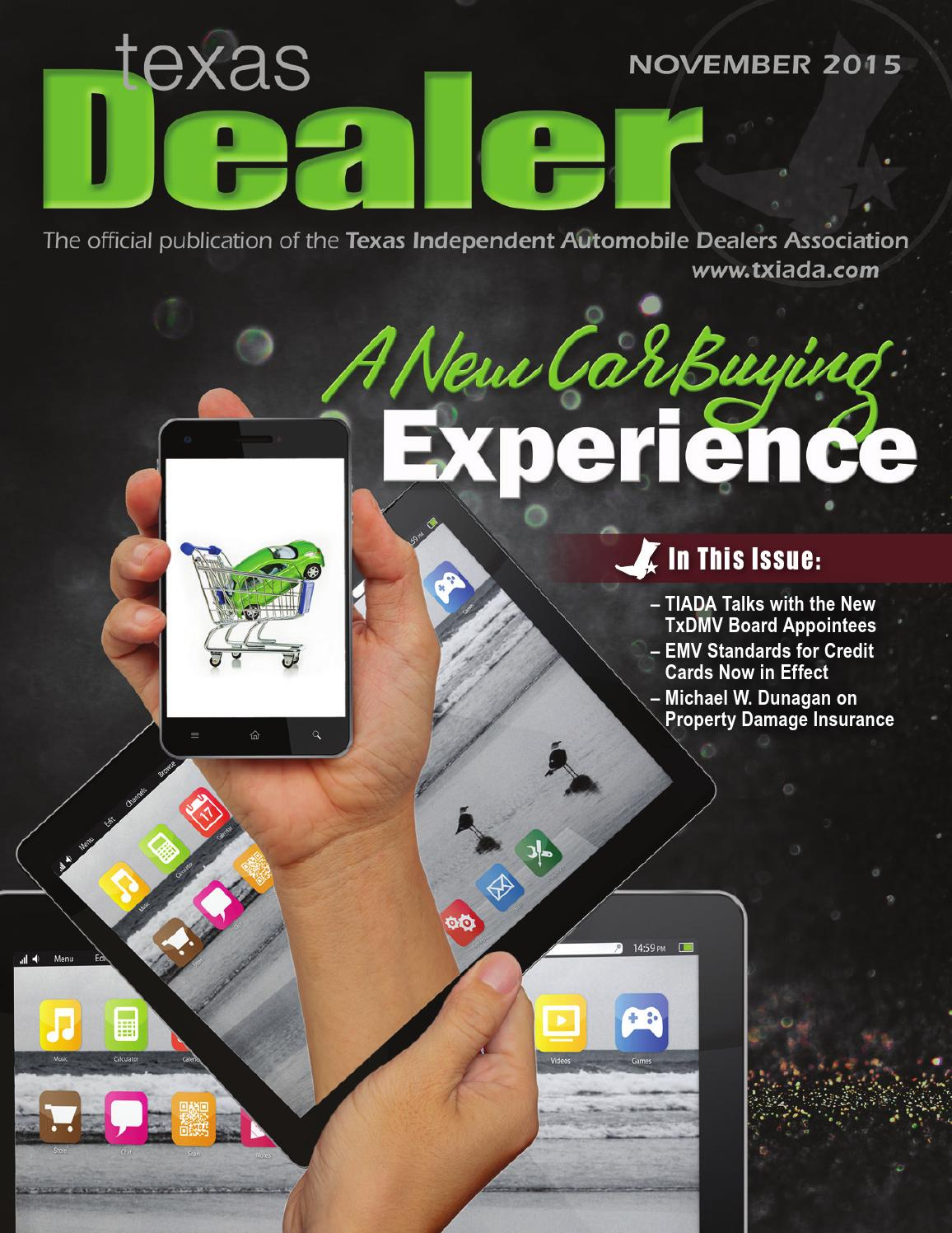 Texas dealer november 2015 by texas independent auto dealers association issuu
