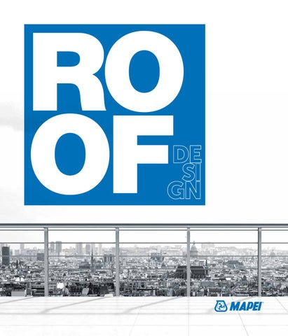 Mapei Brochure Roof By Welcome Issuu