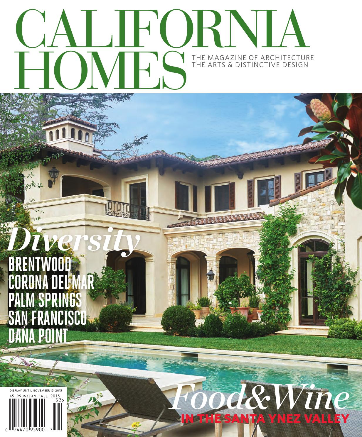 California Homes Fall 2015