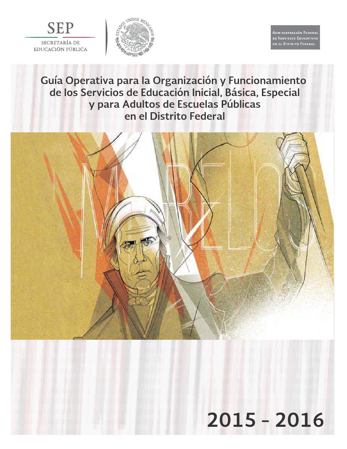 Guia operativa escuelas publicas 2015 2016 by fonoseirog - issuu