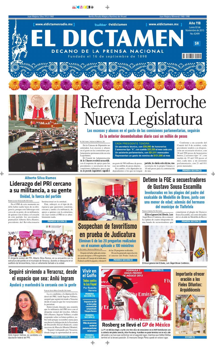 El Dictamen 02 de noviembre de 2015 by El Dictamen - issuu 935b14e412a