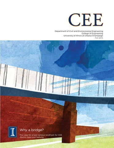 Cee Magazine Fall 2015 By Department Of Civil And Environmental