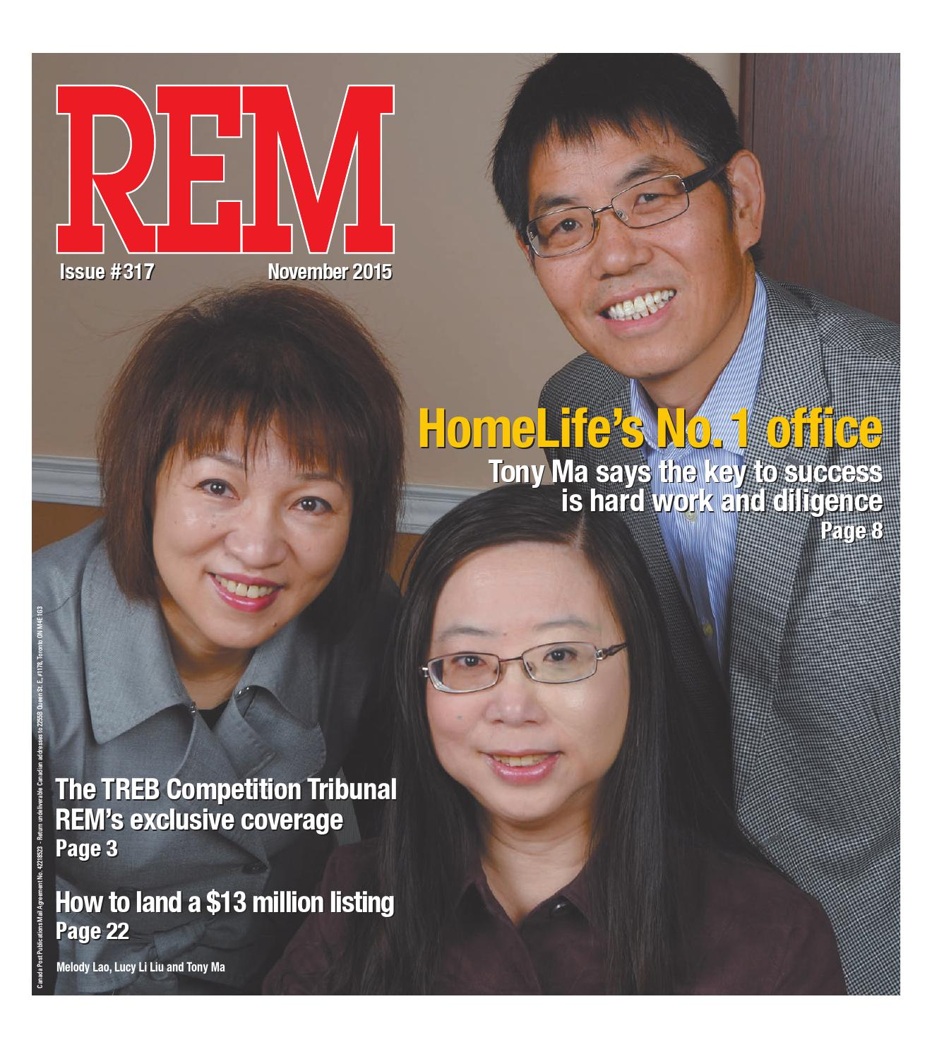 November 2015 by Real Estate Magazine (REM) - issuu