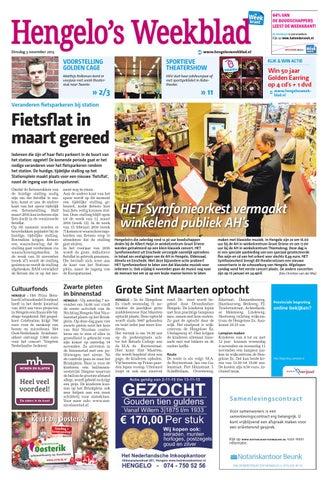 0b95c0071cc Hengelo s Weekblad week45 by Wegener - issuu