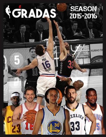 NBA 2015-2016 by Revista Gradas - issuu 50e0cc940ebb3