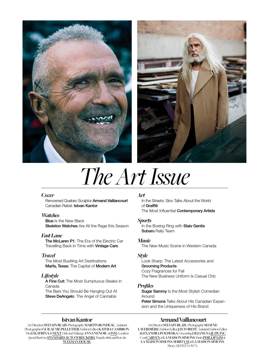 Art Issue Dtk Armand Vaillancourt By Dress To Kill Magazine Issuu Back The Main Bow Tie Diagram Page