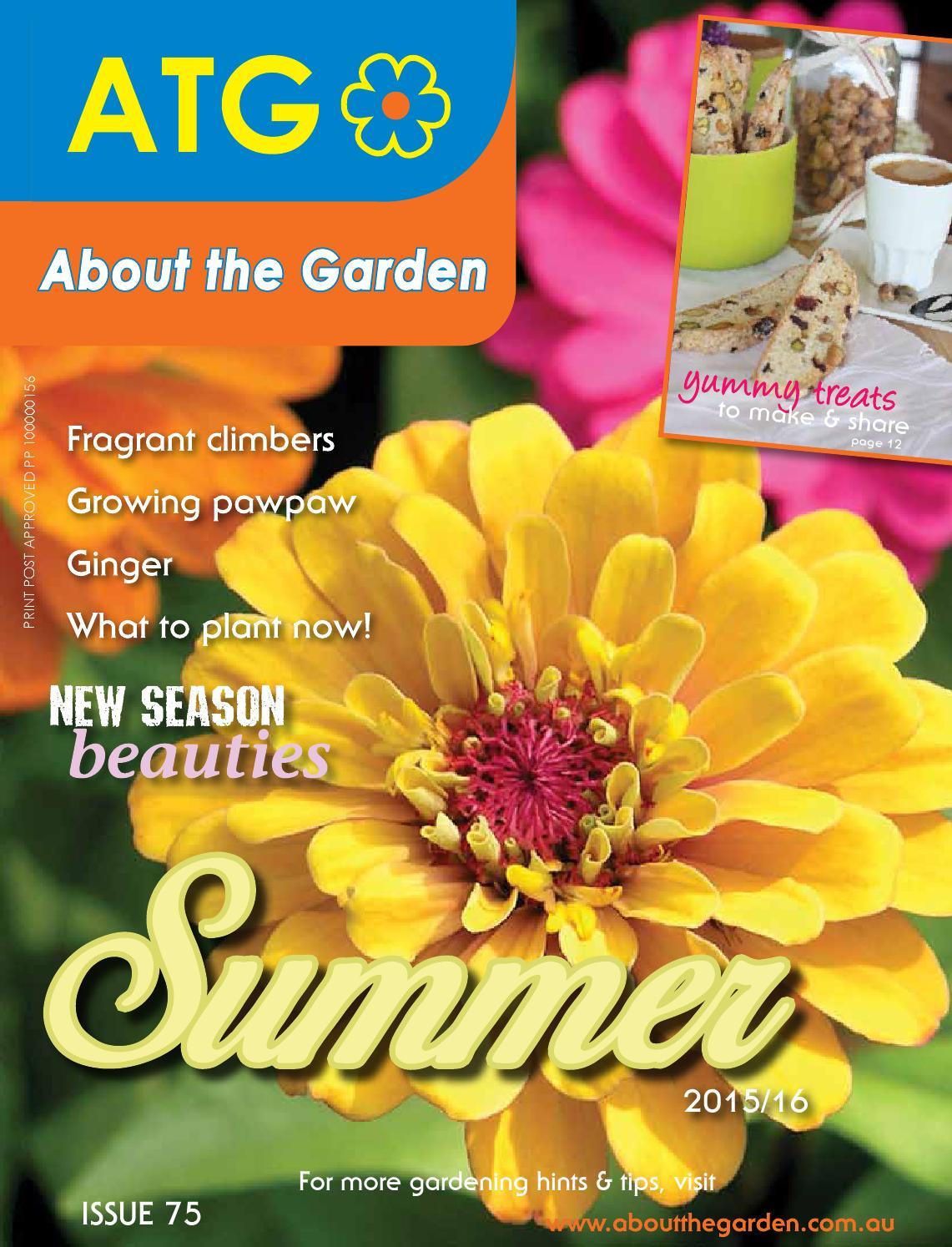 About The Garden Summer Magazine 2015 16