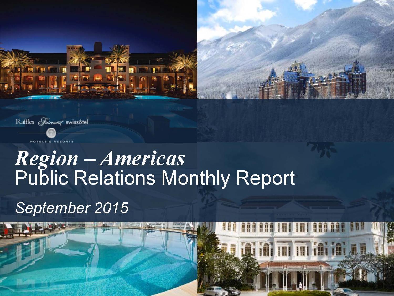 FRHI Americas Regional Coverage Highlights September 2015 by Hadley Schroll  - issuu