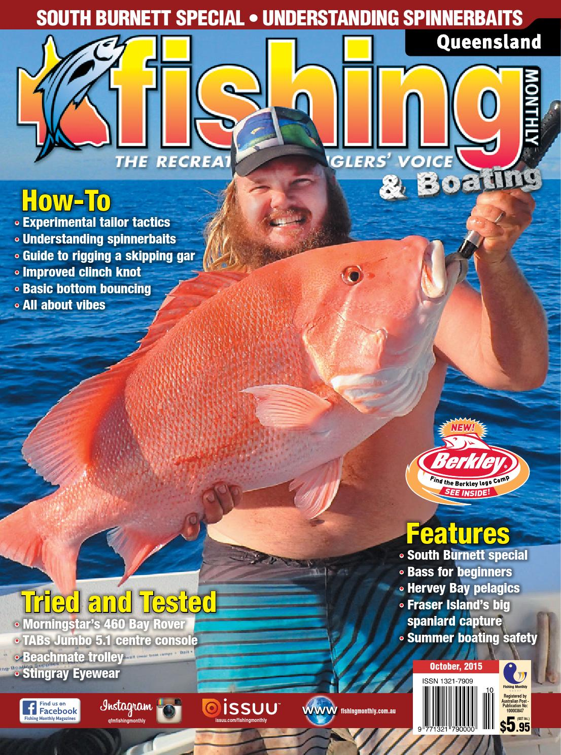 Queensland Fishing Monthly April By Fishing Monthly Issuu - Blue fin boat decalsblue fin sportsman need some advice pageiboats