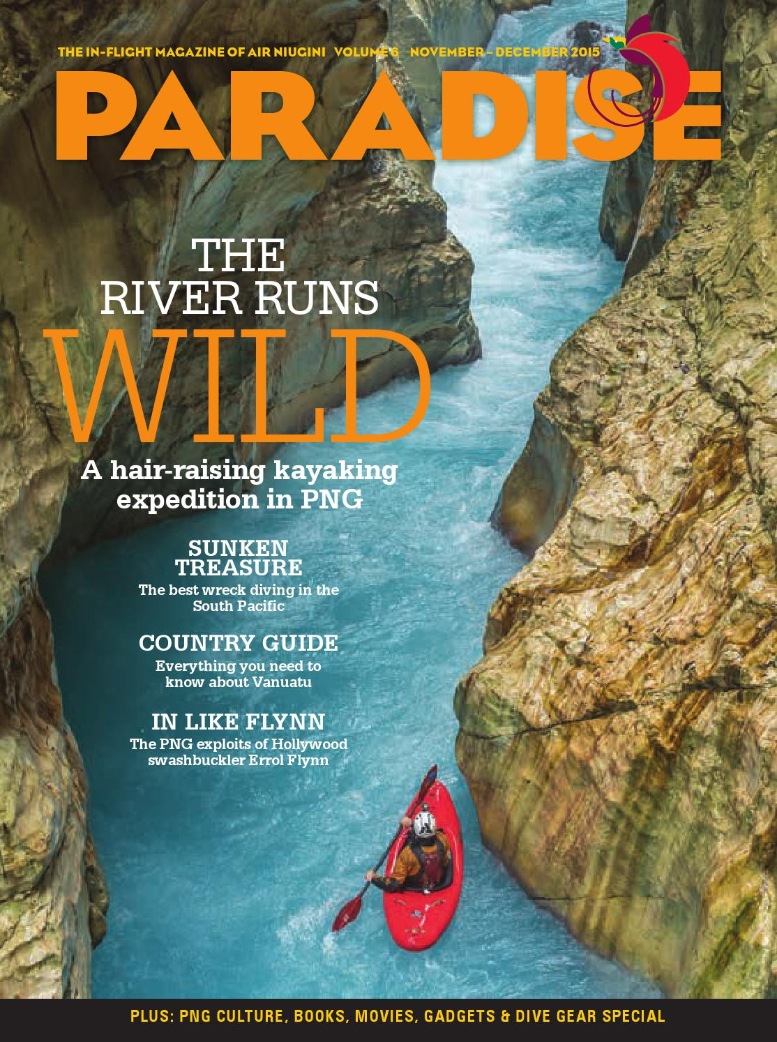 Paradise: the in-flight magazine of Air Niugini, November