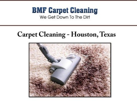 Carpet Cleaning - Houston, Texas