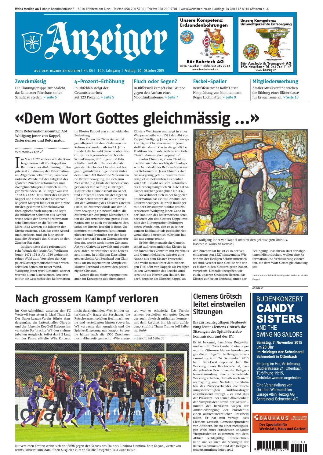 086 2015 by AZ-Anzeiger - issuu