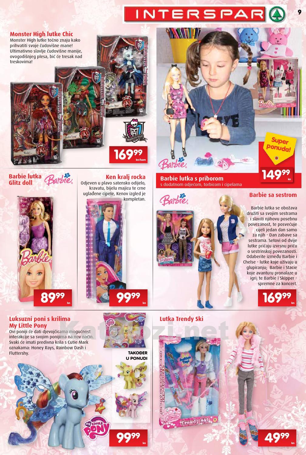 druženje s lutkama Barbie