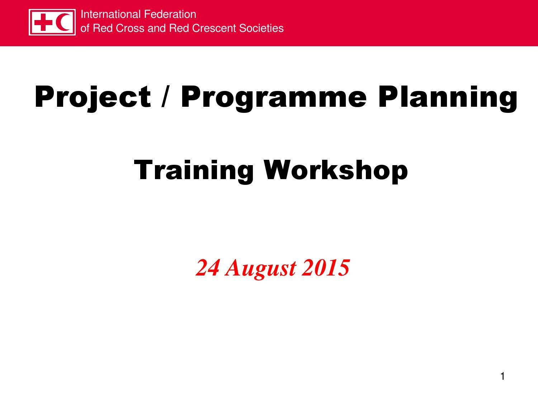 Projectprogramme Planning Training Workshop By Asiaengage Issuu