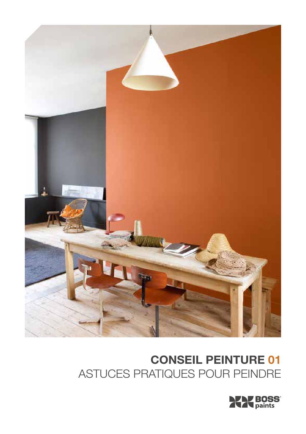 conseil peinture 01 astuces pratiques pour peindre by colora de verfwinkel issuu. Black Bedroom Furniture Sets. Home Design Ideas