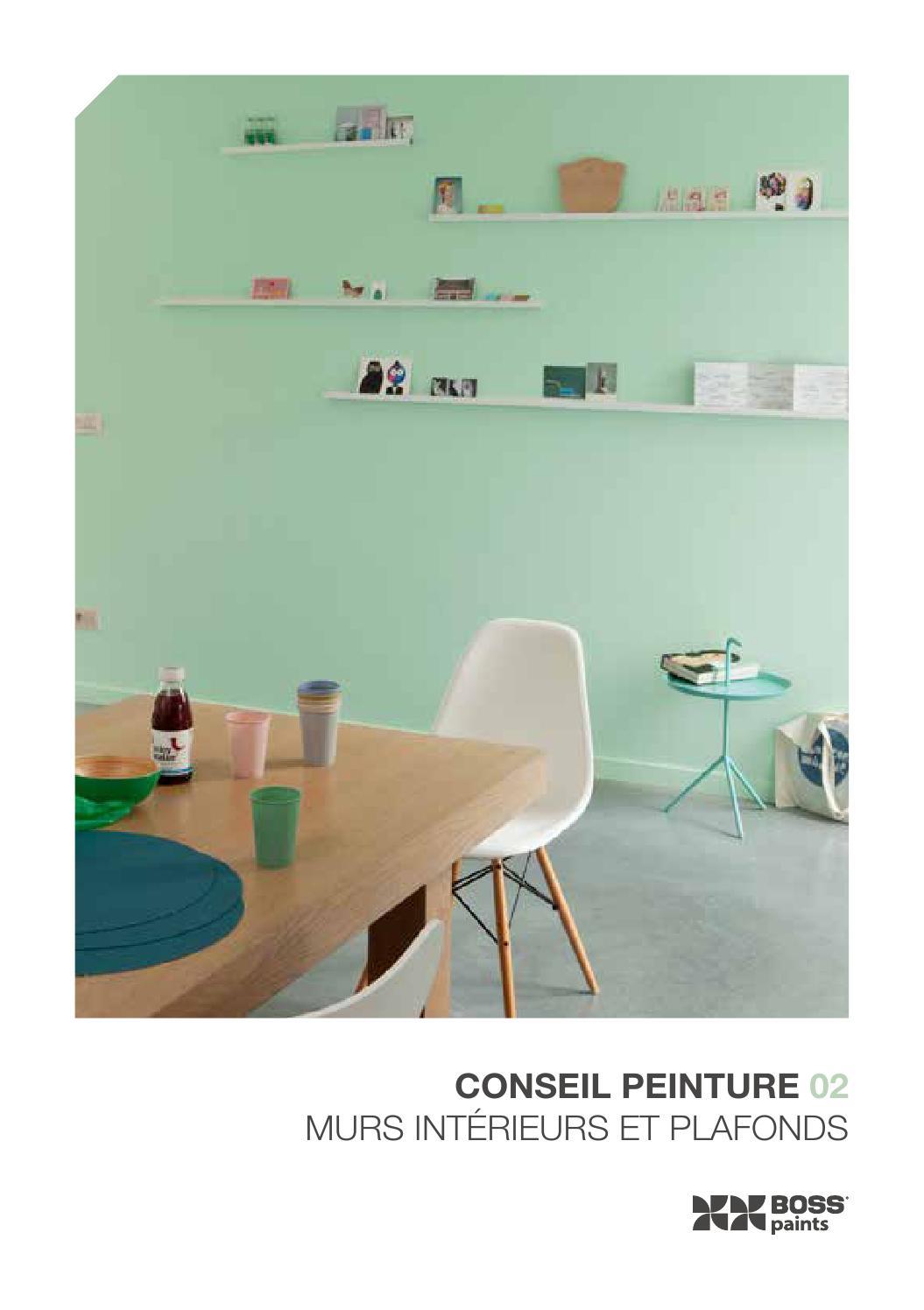 conseil peinture 02 murs int rieurs et plafonds by colora de verfwinkel issuu. Black Bedroom Furniture Sets. Home Design Ideas
