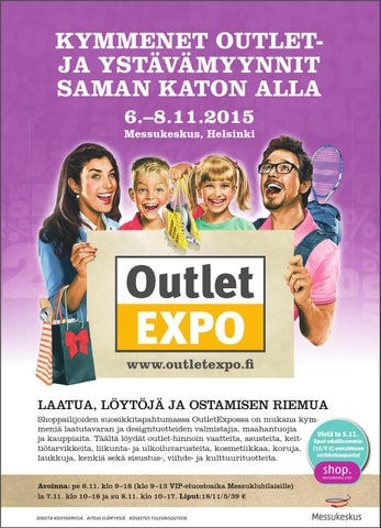 Outletexpo2015 syksy tarjousliite by Messukeskus - issuu 06b751a008