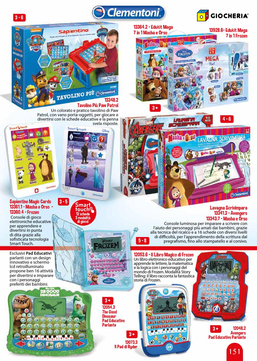 Tavolino Educativo Frozen.Catalogo Natale 2015 By Giocheria Issuu