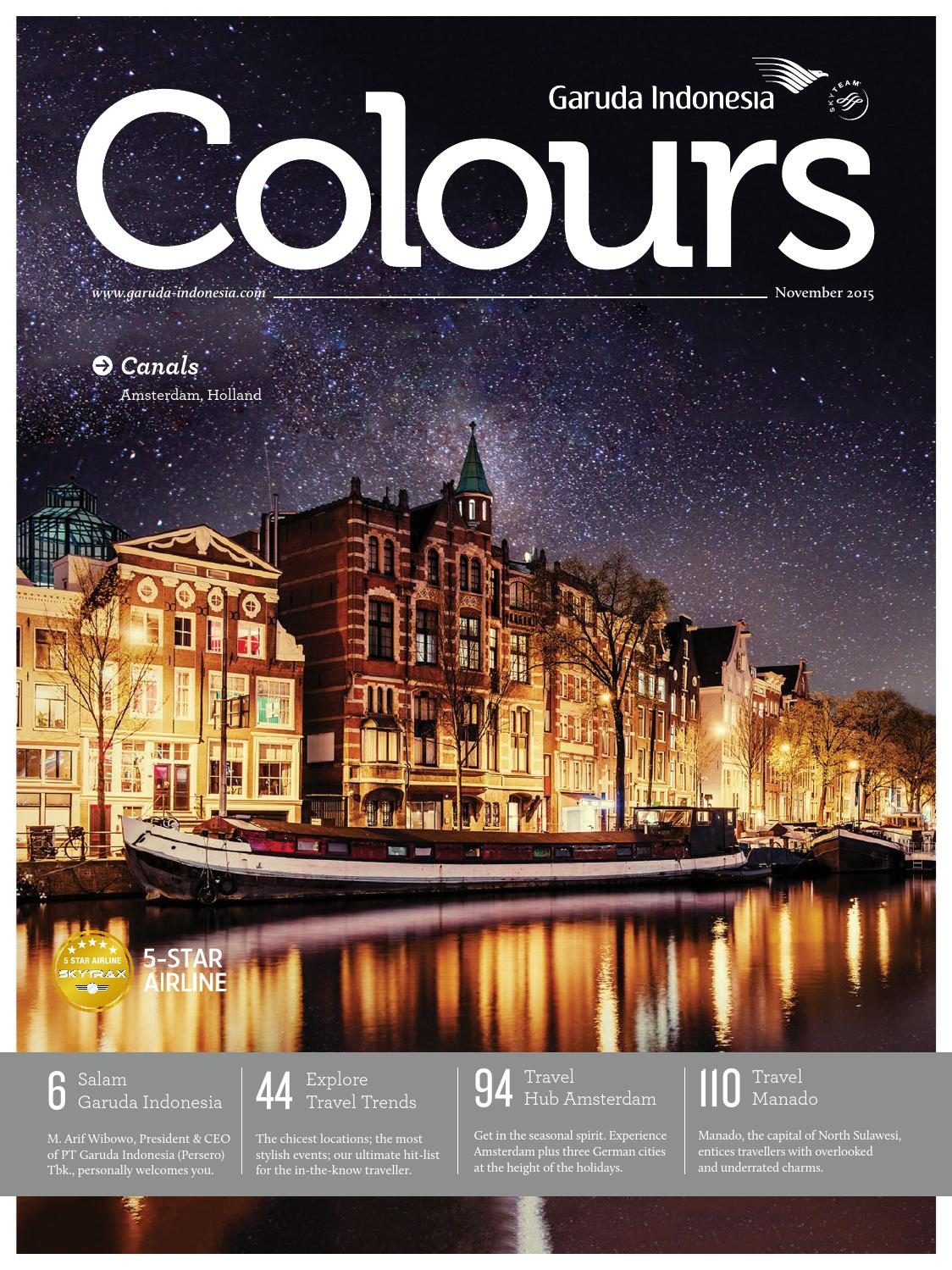 Colours Garuda Indonesia November 2015 by AGENCY FISH - issuu 4d2bc341e3