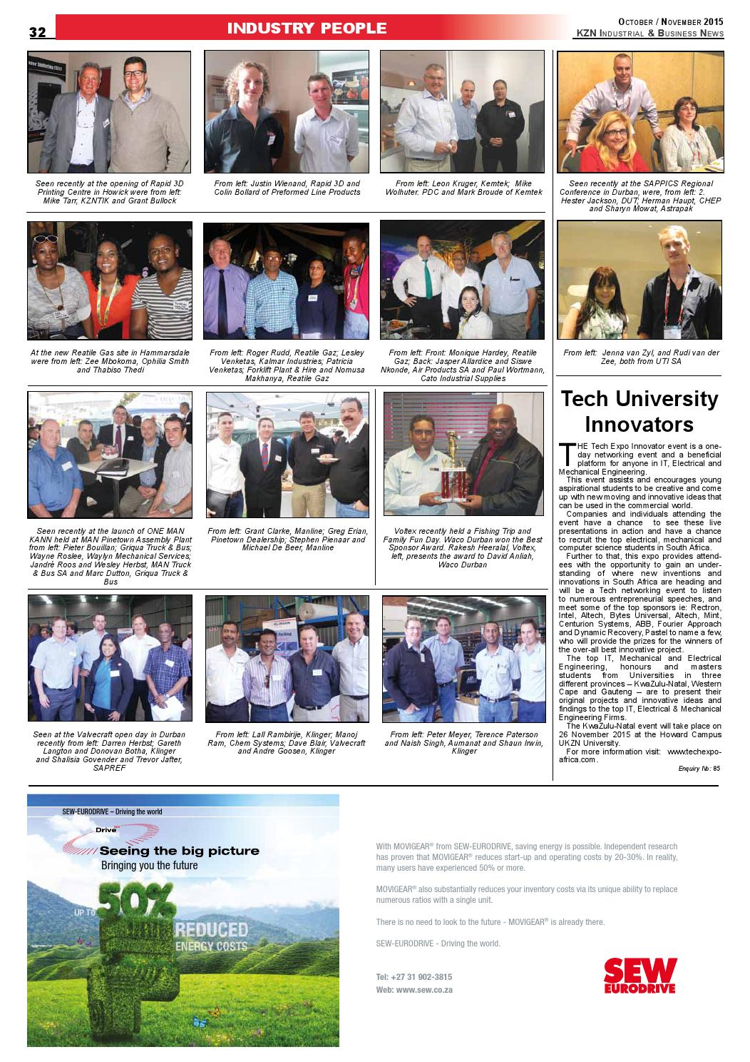 Kzn industrial & business news issue 95 by The Media