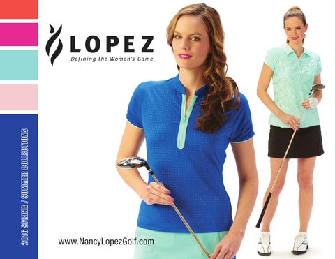 572929446b92d Nancy Lopez Spring 2016 Women s Golf Clothing by Lori s Golf Shoppe ...