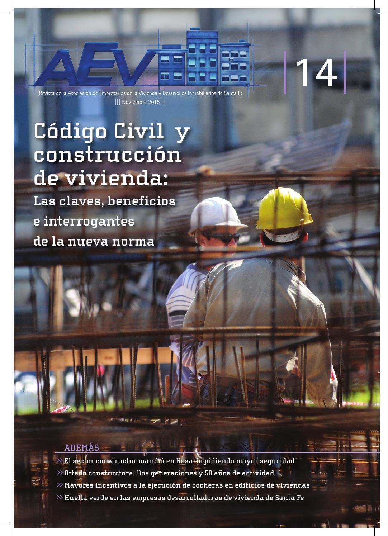 Aev revista n 14 by aev revista issuu - Bauen empresa constructora ...