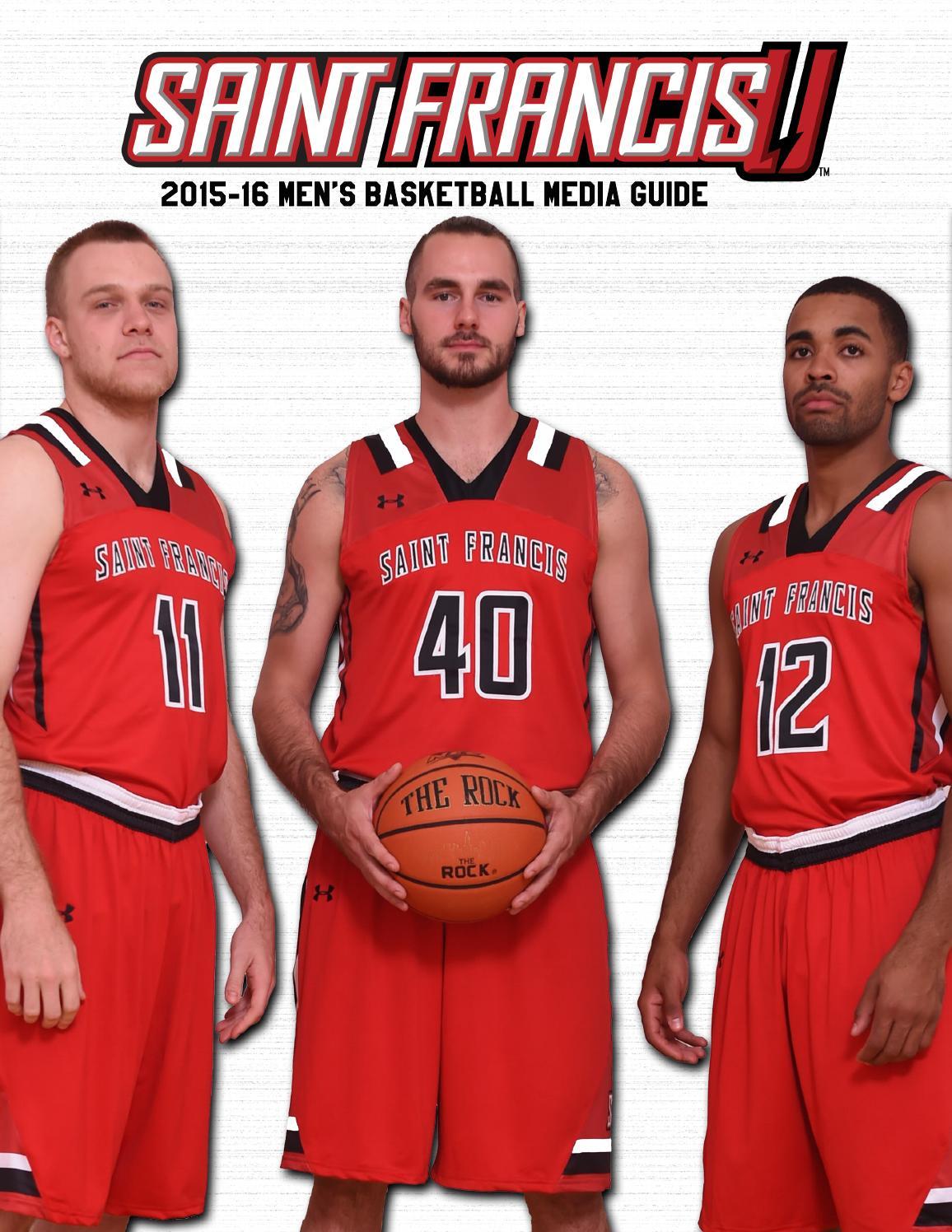 2015-16 Saint Francis Men's Basketball Media Guide by Saint Francis Red Flash - Issuu