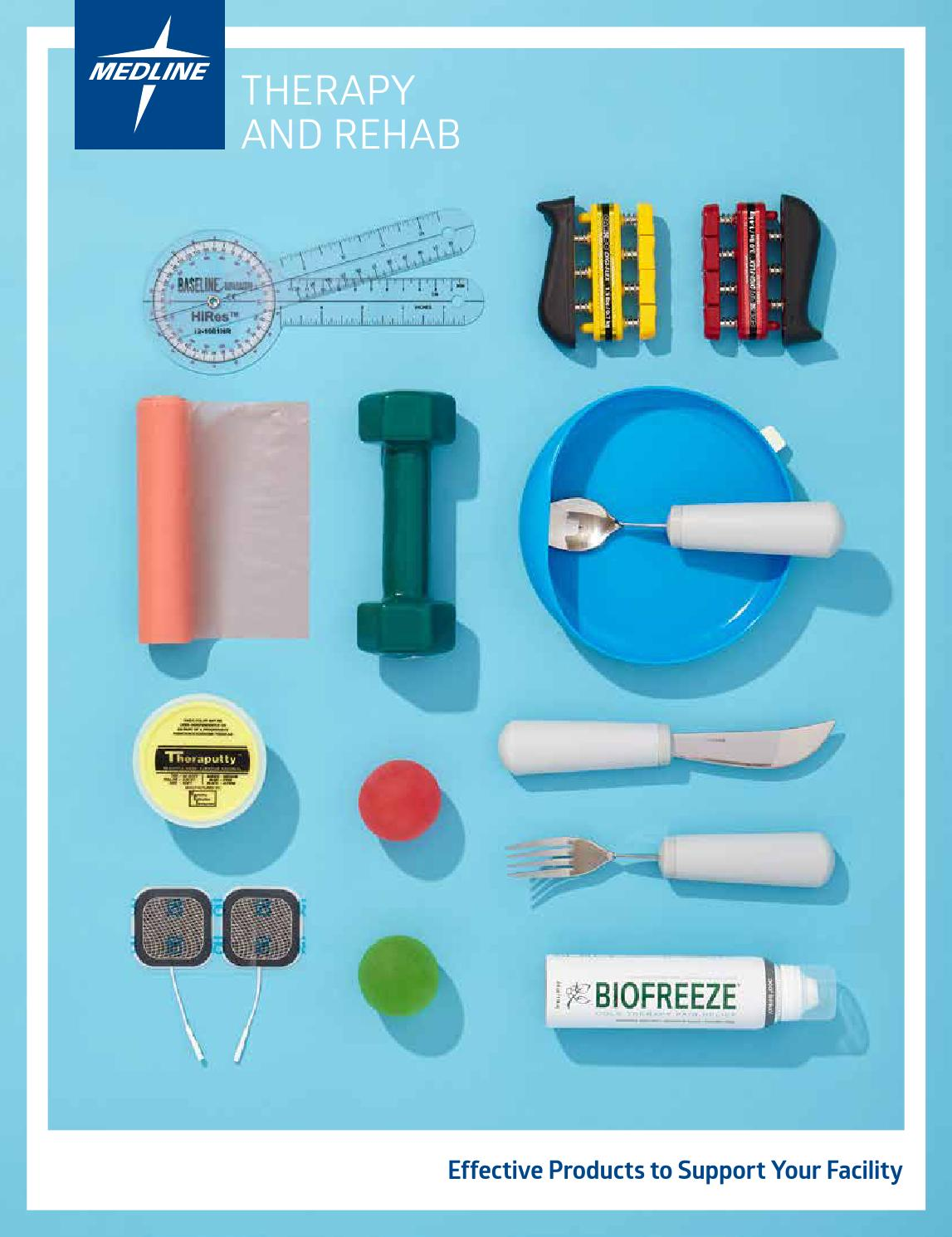 Therapy & Rehab Products by Medline Industries - issuu