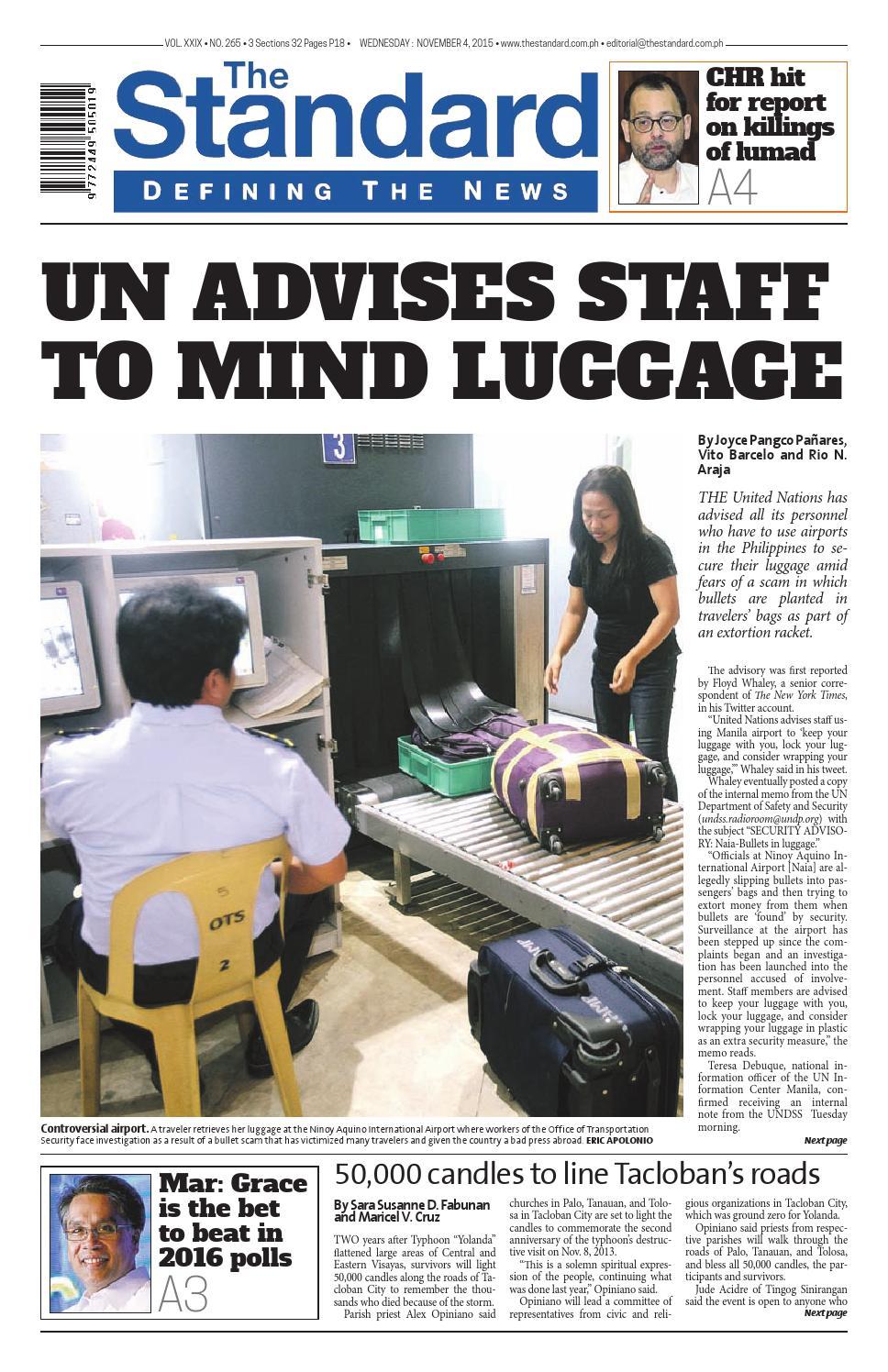 b60e50c56d23 The Standard - 2015 November 04 - Wednesday by Manila Standard - issuu