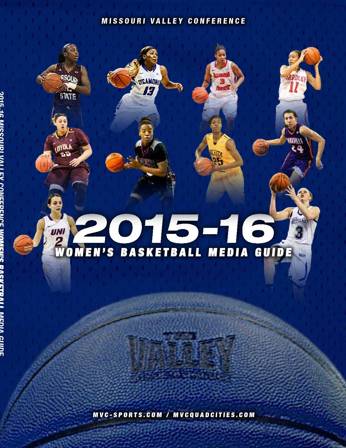 f2cad9d5b42e2 2015-16 MVC Women's Basketball Media Guide by Missouri Valley ...