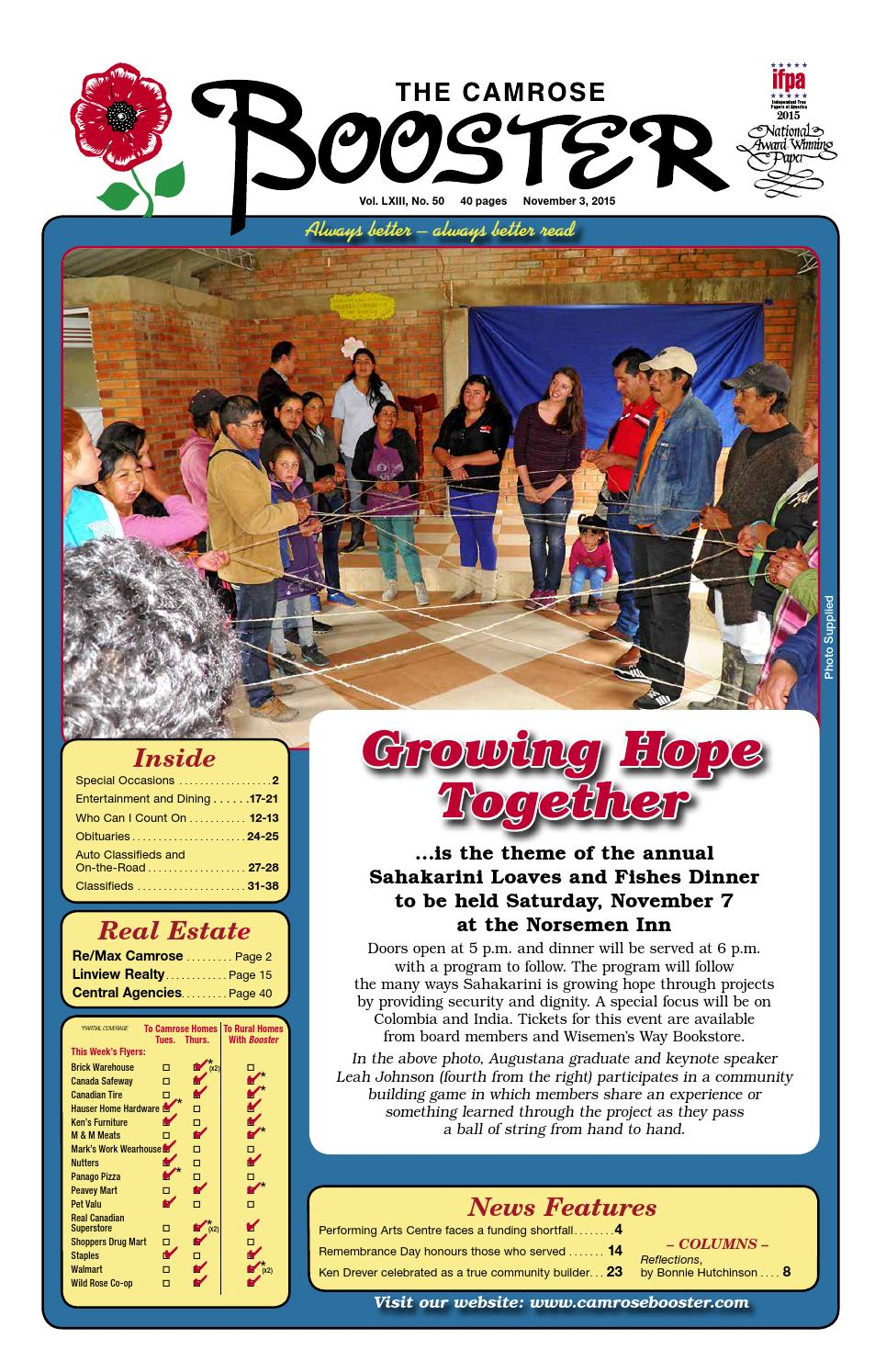 november 3 2015 camrose booster by the camrose booster issuu