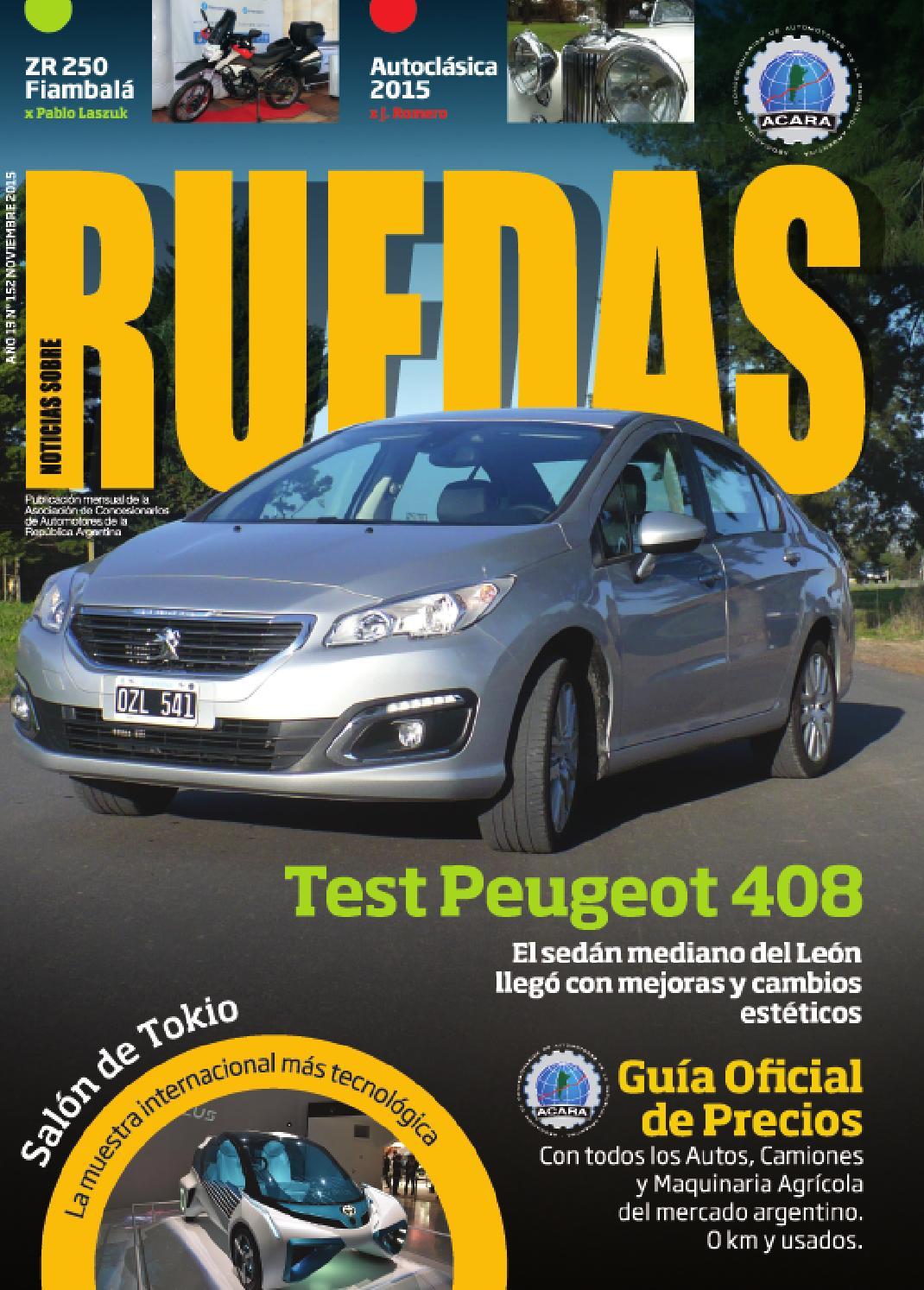 Noticias Sobre Ruedas Nº 152 by Noticias Sobre Ruedas - issuu