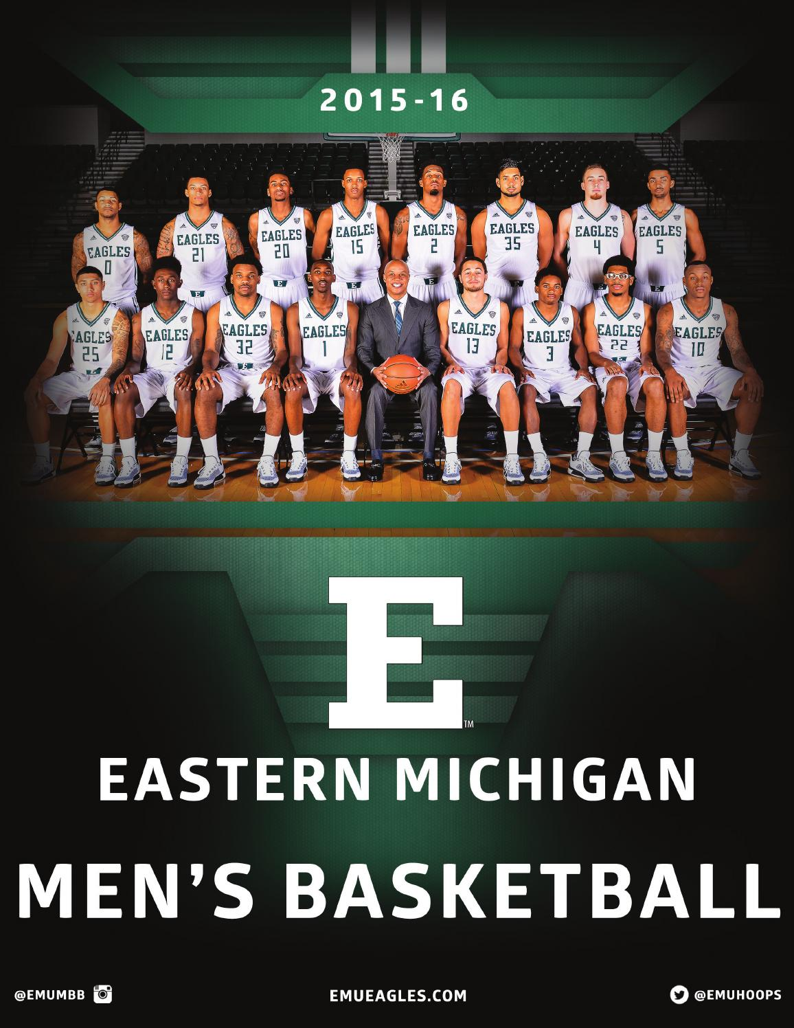 2015-16 Eastern Michigan Men's Basketball Media Guide by ...