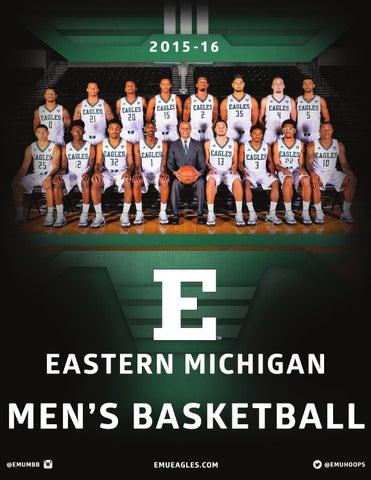 579db0894 2015-16 Eastern Michigan Men s Basketball Media Guide by Eastern ...