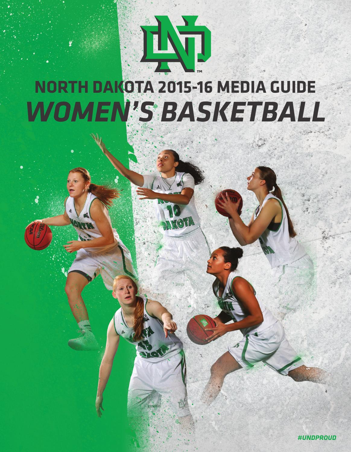 094fb80232 2015-16 UND Women s Basketball Media Guide by University of North Dakota -  issuu