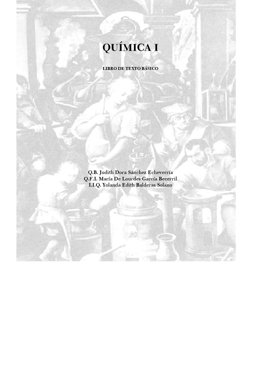 Quimica i judith dora sanchez by erik alejandro jasso for Resumen del libro quimica en la cocina