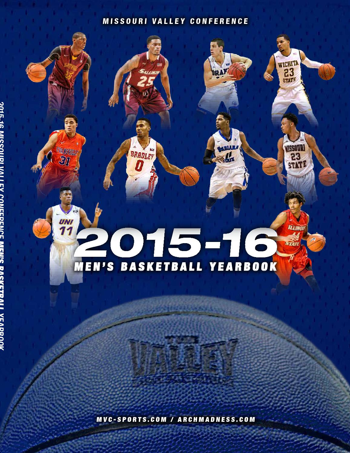 2015-16 MVC Men s Basketball Media Guide by Missouri Valley Conference -  issuu 0b87ec4a3c0