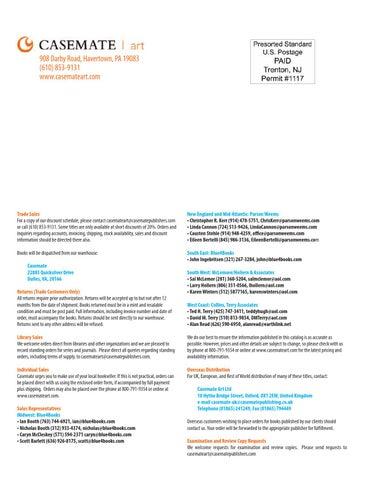 Casemate Art Fall 2014 Catalog By Casemate Publishers Ltd Issuu