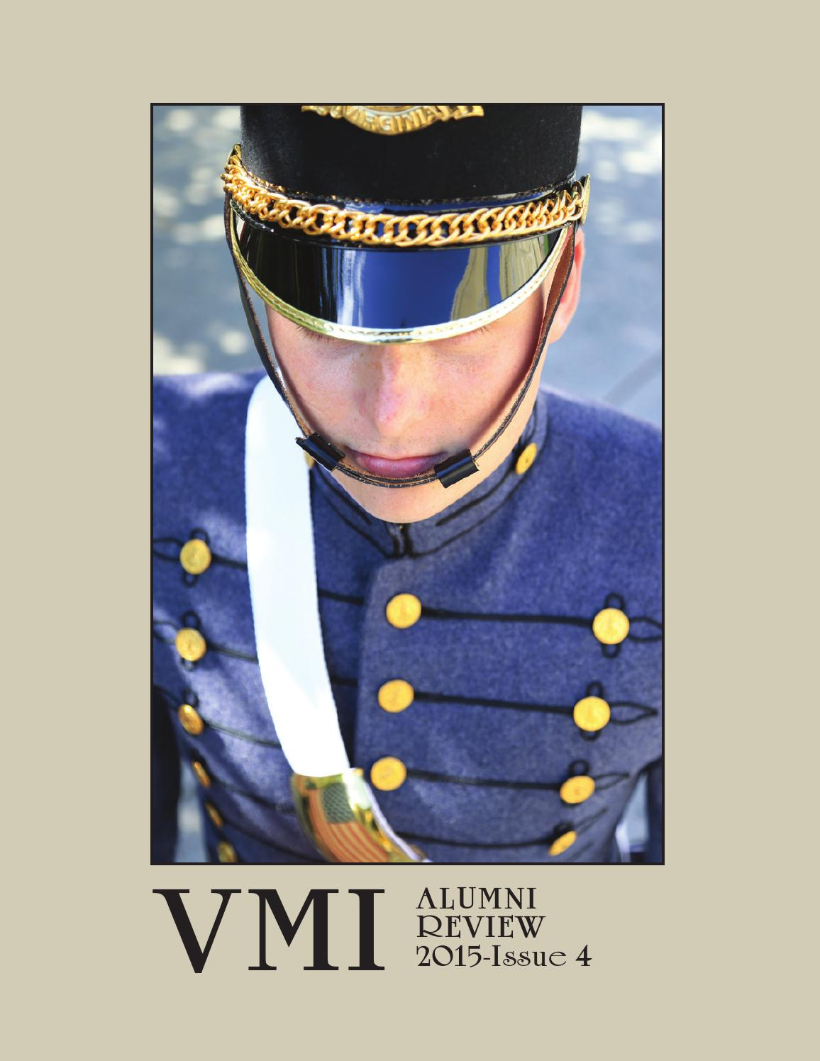 Alumni Review 2015 Issue 4 by VMI Alumni Agencies - issuu 3b9f39eb7