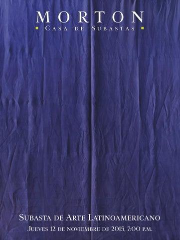 Subasta de Arte Latinoamericano by Morton Subastas - issuu f218fa7e9eb